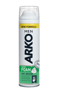 Arko Traş Köpüğü 200 Ml Anti Irritation
