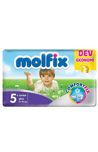 Molfix Bebek Bezi Dev Eko Junior Plus(5+) 13-20 Kg