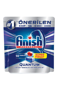 Finish Bulaşık Makinesi Tableti Quantum 50Li