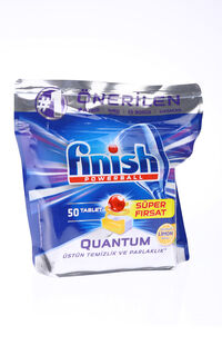 Finish Bulaşık Makinesi Tableti Quantum 50Li Limon