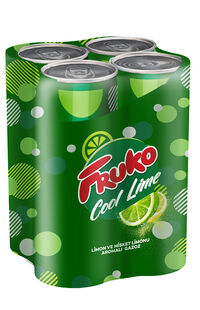 Fruko Cool Lime 4x250 Ml