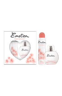 Emotion Edt Kadın 100 ml + Deo 150 ml Fresh Bouquet
