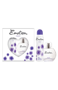 Emotion Edt+Deodorant Kofre Violet