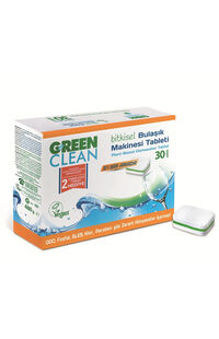 Green Clean Bulaşık Makinesi Tableti 30 Lu