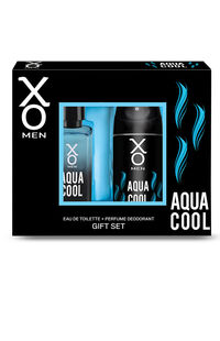XO Men Set 100 Ml Edt + Deo Aqua Cool