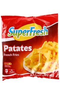 Superfresh Patates 1000Gr
