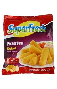 Superfresh Kroket Patates 450 Gr