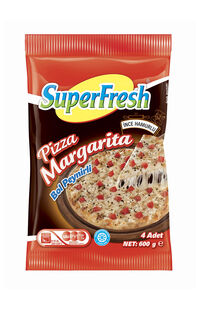 Superfresh Pizza Margarita 600 Gr