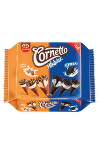 Algida Mini Cornetto Karamel-Oreo 360 Ml