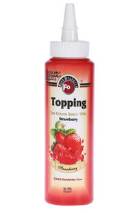 Fo Toping Çilekli 350 Gr
