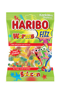 Haribo Fizz Worms 70 Gr