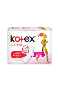 Kotex Active Single Uzun 7 Li