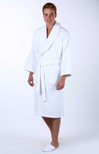 Özdilek İmperial Şal Yaka Bornoz Beyaz XL Beden