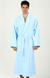Özdilek XL Beden Kapüşonlu Bornoz İmperial Mavi