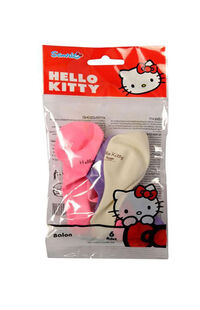 Hello Kitty Balon Poşetiçi 6'lı