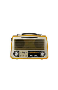 Powerway Nsj07 Nostalji Bluetooth Hoparlör + Radyo Mp3 Çalar PWR NSJ07