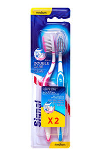 Signal Diş Fırçası Double Care Clean 1+1