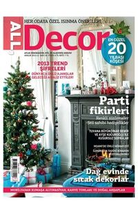 Dergi All Decor Dekorasyon