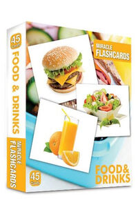 Miracle Flashcards Food&Drink - MK Publishing