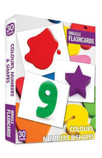 Miracle Flashcards Colours, Numbers & Shapes - Kolektif