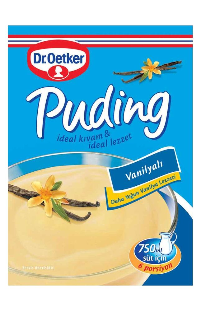 Image for Dr.Oetker Vanilyalı Puding 125 Gr from Bursa