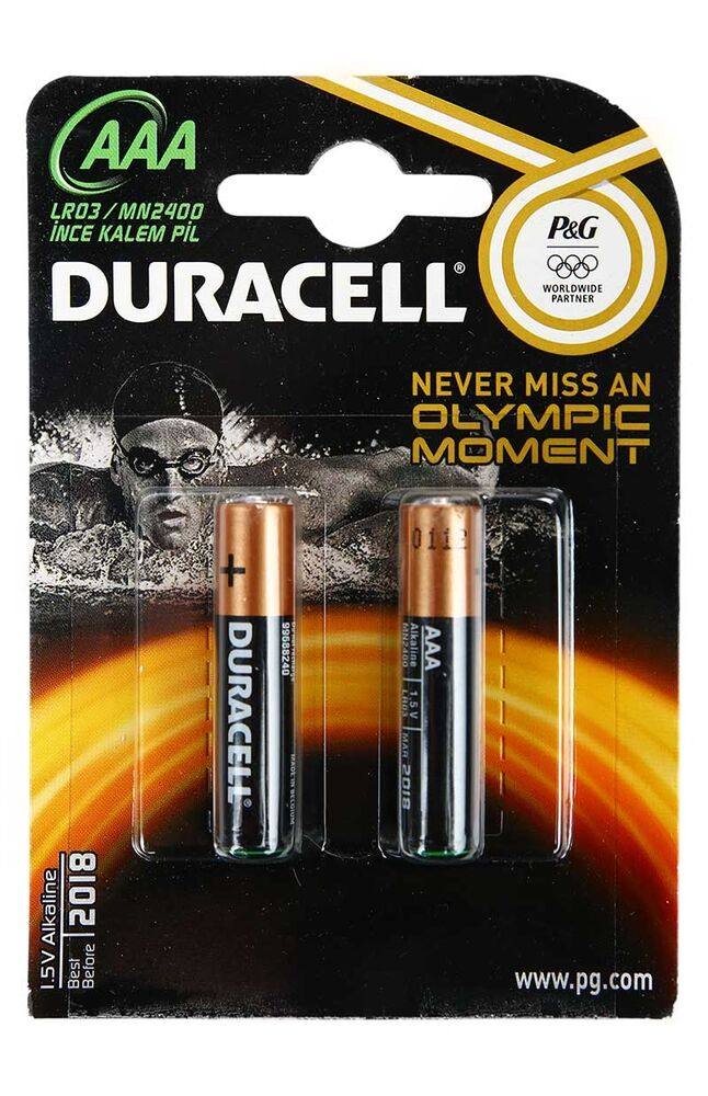 Image for Duracell Basıc 2'Li Aaa Pil from Antalya