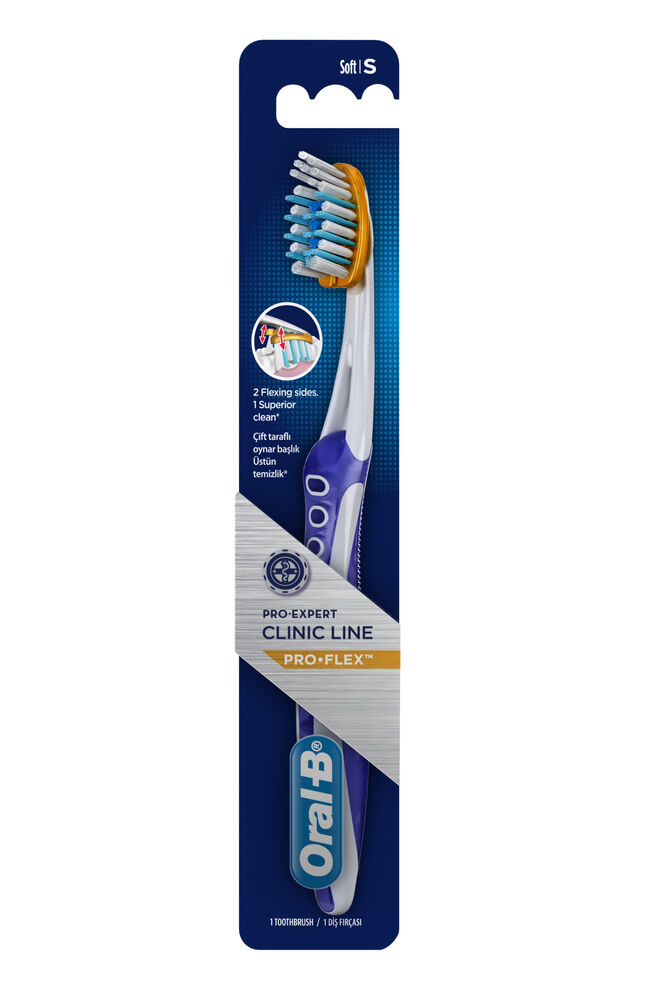 Image for Oral B Diş Diş Fırçası Proflex Clinicline Soft from Eskişehir