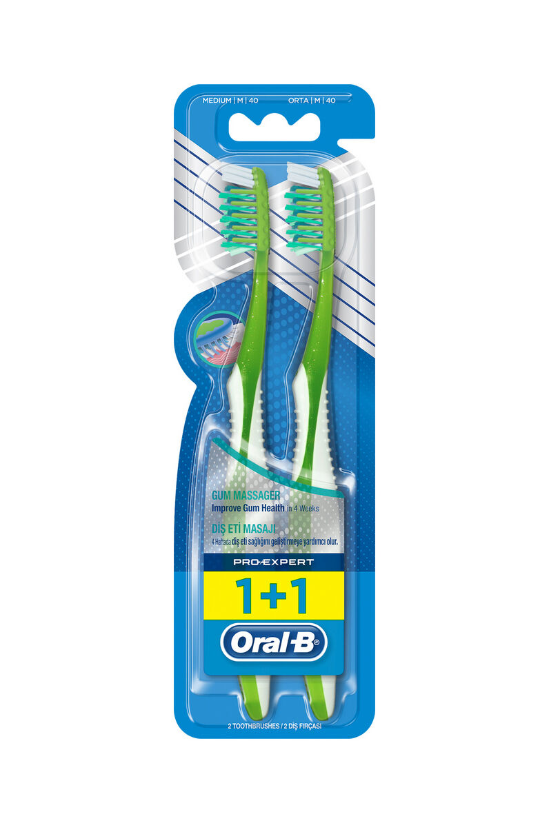 Image for Oral B Diş Diş Fırçası Pro Expert 1+1 Masaj from Bursa