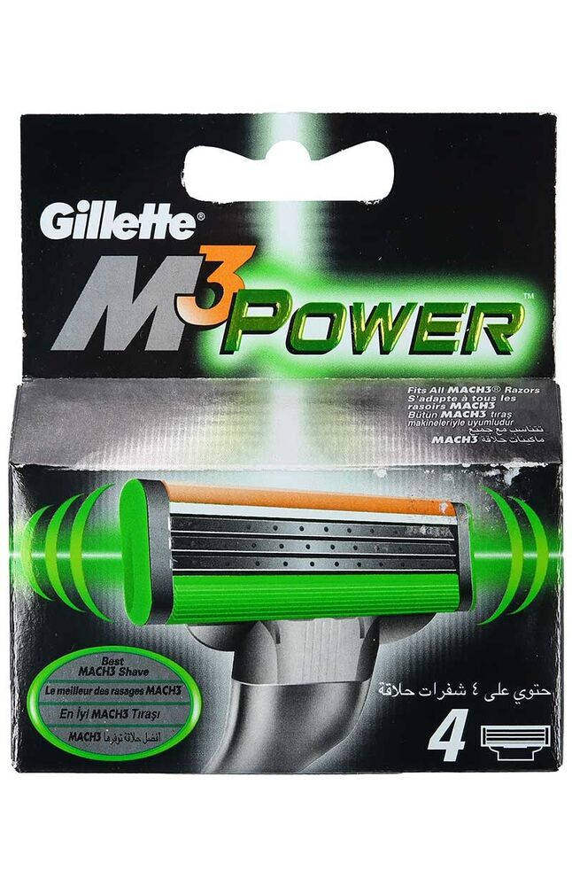 Image for Gillette Mach3 Power 4'Lü Bıçak from Eskişehir
