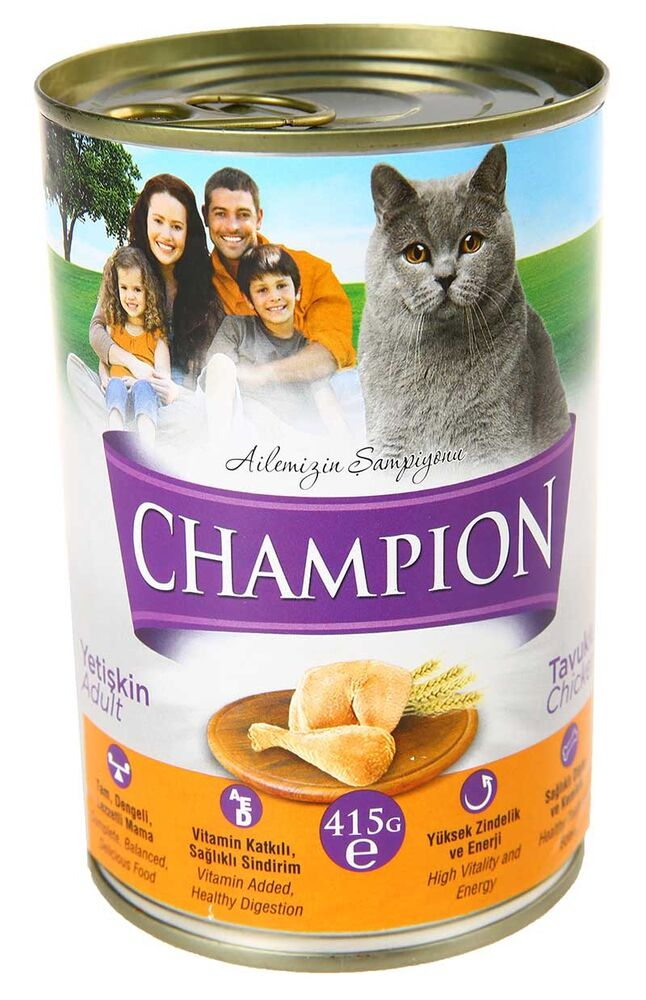Image for Champion Tavuklu Konserve Kedi Maması 410Gr from Kocaeli