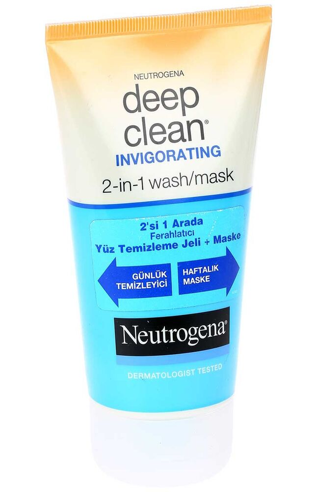 Image for Neutrogena Deep Clean Ferahlatıcı Temizleme Jeli Ve Maske 2 In1 from Kocaeli