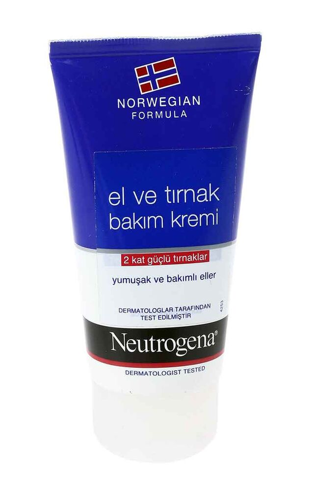Neutrogena El Ve Tırnak Kremi Tüp 75 Ml