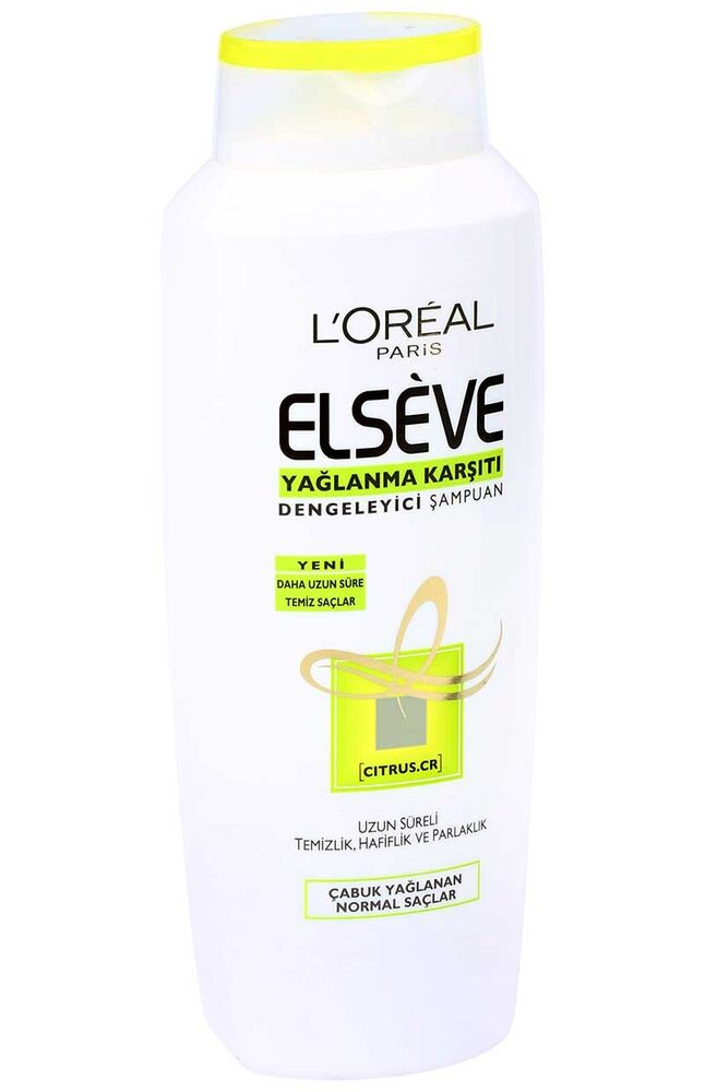 Elseve Şampuan 600Ml Citrus Cr
