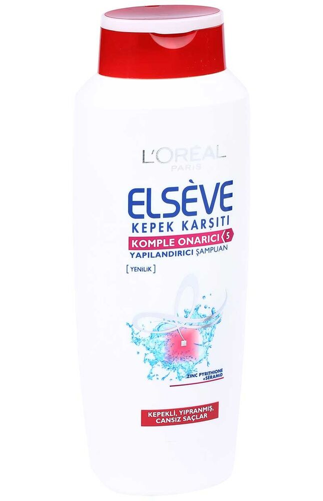 Elseve Şampuan 600Ml Total Repair 5 Kepek