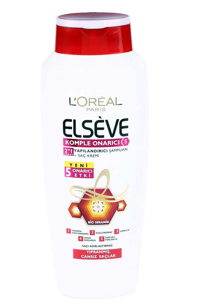 Elseve Şampuan 600Ml Total Repair 5 2Si 1 Arada