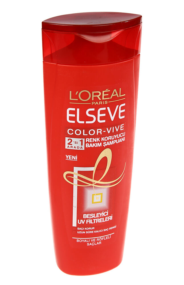 Elseve 360 Ml Şampuan Colorvive Kremli