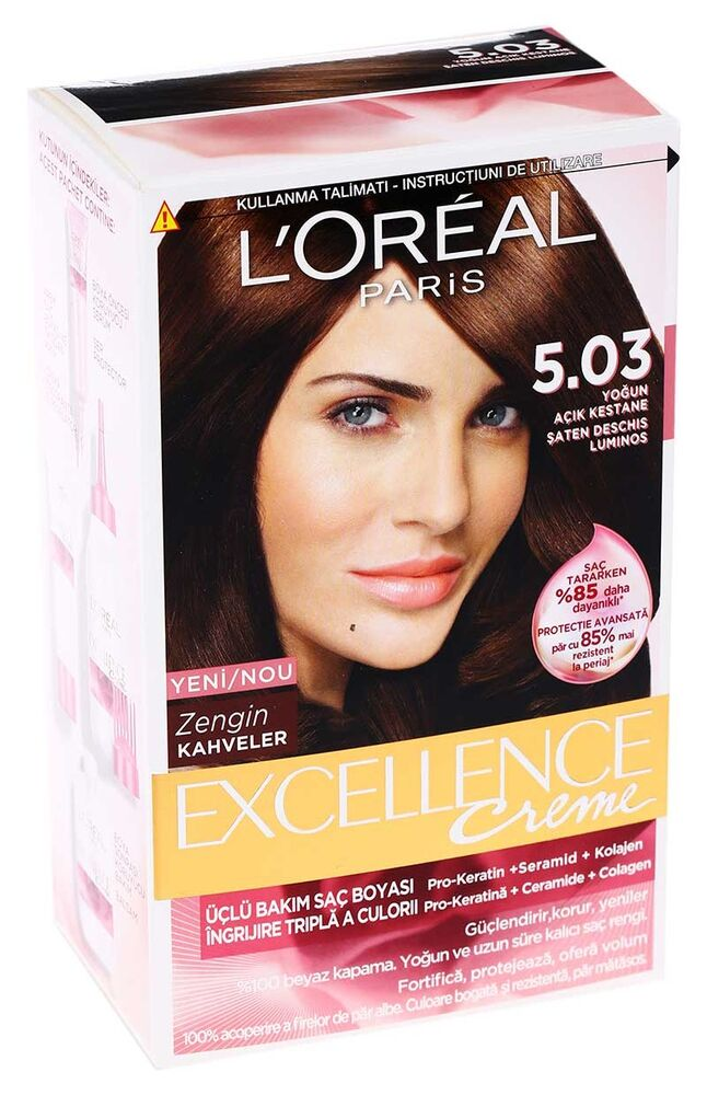 Excellence Saç Boyası 5.03 Radiant Light Brown