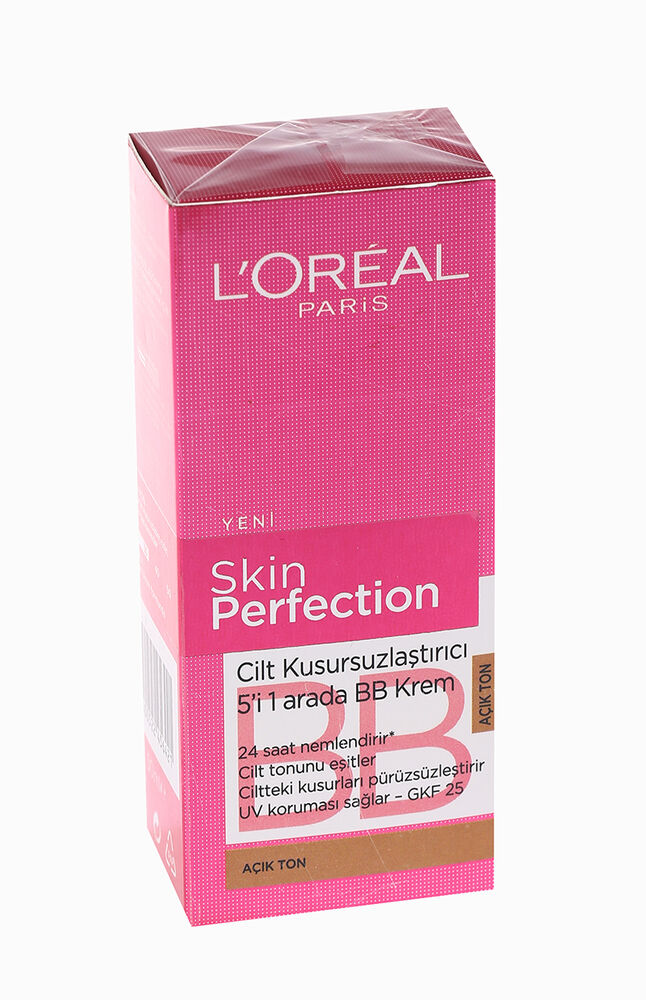 Loreal Dermo Skin Perfection Bb Krem Açık Ton