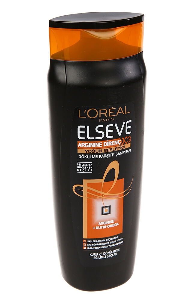 Elseve 600 Ml Şampuan Intense Nutrition