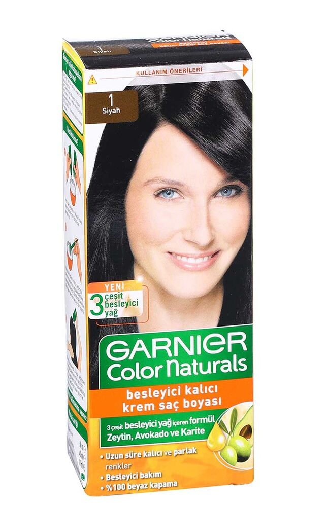 Image for Garnier Colornat N°1 Siyah from Bursa