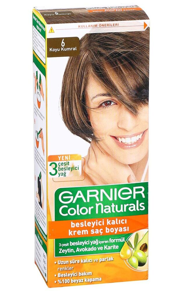Image for Garnier Colornat N°6 Koyu Kumral from Bursa