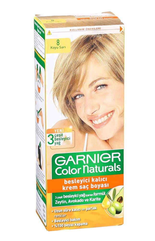 Image for Garnier Colornat N°8 Koyu Sarı from Kocaeli