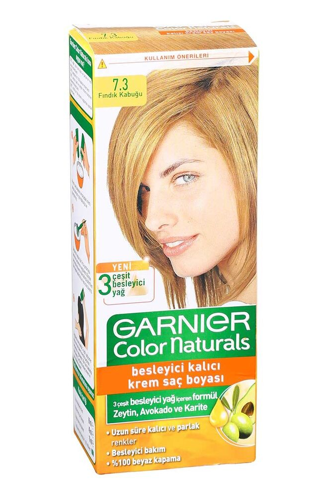 Image for Garnier Colornat N°7.3 Fındık Kabuğu from Bursa