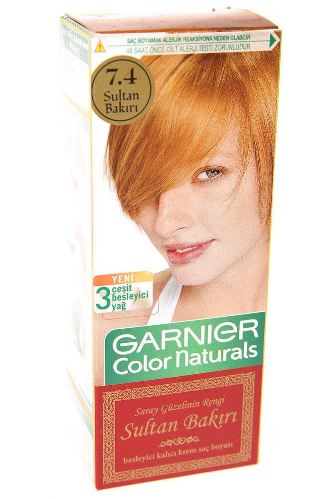 Image for Garnier Colornat N°7.4 Sultan Bakırı from İzmir