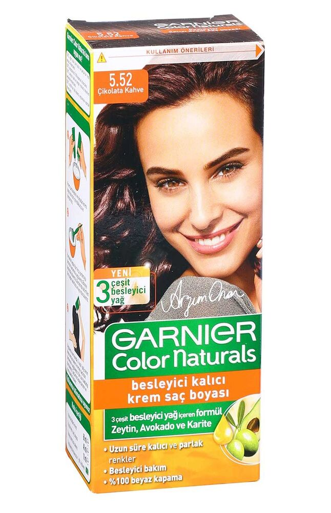 Image for Garnier Colornat N°5.52 Çikolata Kahve from Bursa