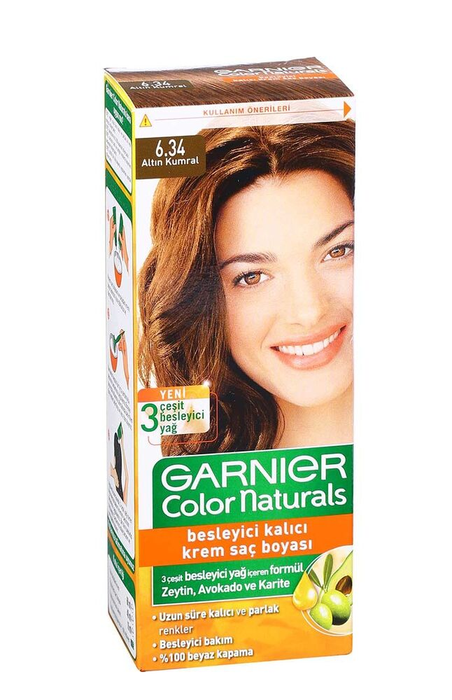 Image for Garnier Colornat N°6.34 Altın Kumral from Bursa