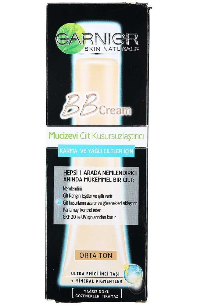 Image for Garnier Skin Naturals Bb Krem Oil Free Orta Ton from Bursa