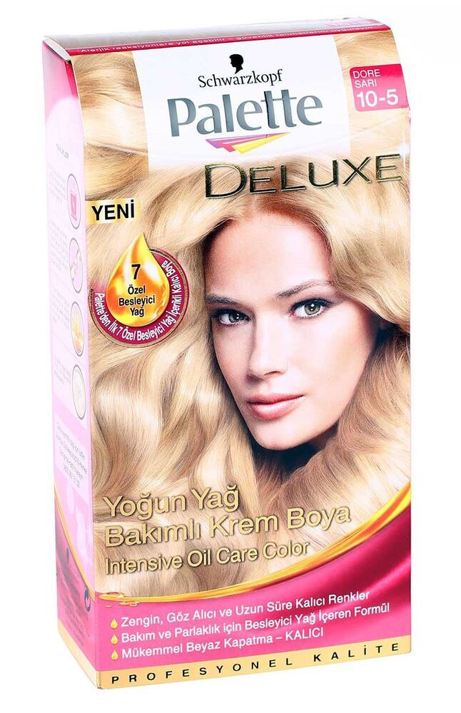 Image for Palette Deluxe Dore Sarı 10-5 from Antalya