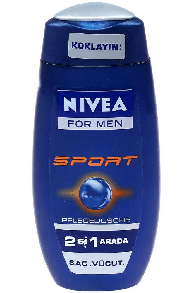 Nivea Duş Şampuan.250Ml S.For Men
