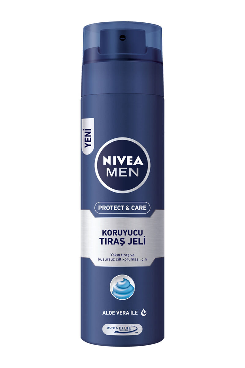 Nivea For Men Tıraş Jeli Normal 200Ml
